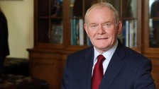 Martin McGuinness died in March aged 66.