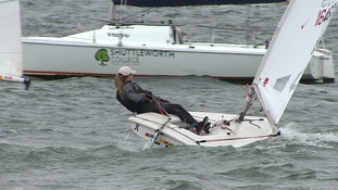 Have you been at the national youth regatta at Grafham Water?