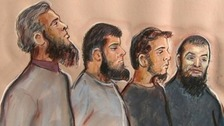 Jury begins deliberations in 'Three Musketeers' terror trial