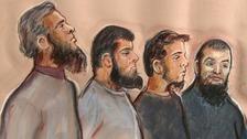 Jury begins deliberations in 'Three Musketeers' terror trial