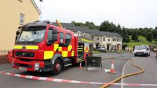 Homes evacuated after arson attack causes gas leak