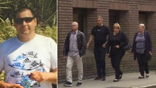 Arek Jozwik's have been in court for the start of the trial of the teenager accused of killing him.