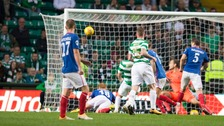 Linfield lost 4-0 at Celtic Park.