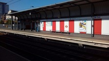 Stadium of Light Metro station revamped in red and white