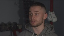 Frampton hopes to set himself up for a world title shot.