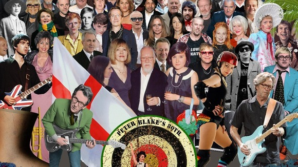 Sir Peter Blake's new album cover