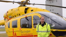 William's last pilot shift ahead of full-time royal duty