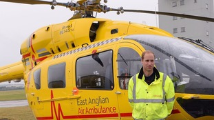 Prince William is stepping down from his role as a helicopter pilot.