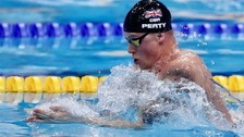 Adam Peaty breaks 50m breaststroke world record again