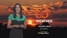 A wet and windy Wednesday