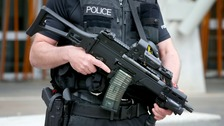Police called to reports of man with weapon in Caerphilly