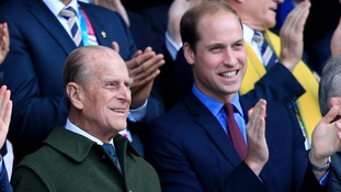 Duke of Cambridge and Duke of Edinburgh