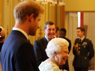 The Queen will be accompanied by family members like Prince Harry more often.