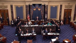 Senators narrowly voted to discuss repealing Obamacare.