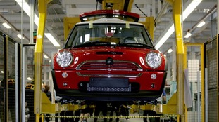 BMW announced plans for an electric Mini to be assembled in Oxford.