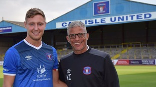 Keith Curle is delighted to have signed Richie Bennett