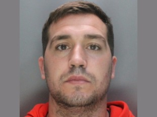 Stuart Welch has been jailed for 15 months for domestic abuse.