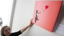 Banksy's Balloon Girl voted nation's favourite artwork