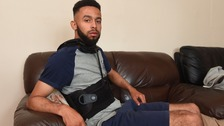 Car crash victim 'sent home from hospital with broken back'