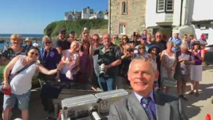 96-year-old Doc Martin superfan gets special birthday surprise