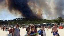 British tourists among 12,000 fleeing raging French Riviera fires