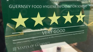 Information on the Guernsey Food Hygiene Rating scheme.