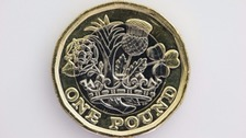 The new-look pound coin is more secure.