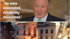 Owner of Royal Clarence Hotel speaks for first time about fire