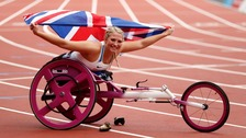Sammi Kinghorn returns to the Borders as double world champion
