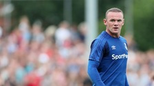 Wayne Rooney will play in his first competitive game since returning to boyhood club Everton.