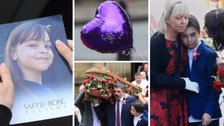 Pop-themed funeral for youngest Manchester attack victim