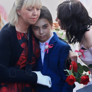Saffie's mother Lisa was also injured in the arena attack on May 22.