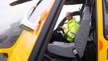 Prince William prepares for final air ambulance shift