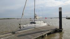 Kuroglu's yacht.