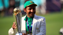Sarfraz Ahmed led Pakistan to victory in the ICC Champions Trophy
