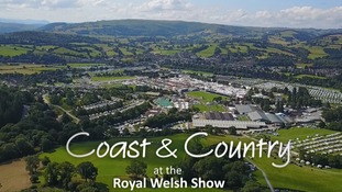 Catch up: Coast & Country at the Royal Welsh Show (Wed)