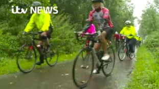 Mass cycle ride leaves Yorkshire in memory of Jo Cox