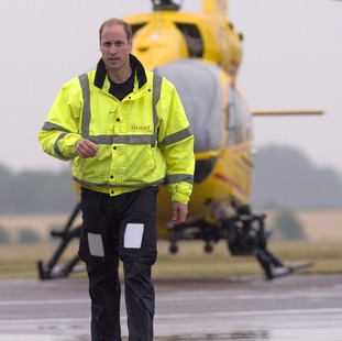 The Duke of Cambridge will work his final shift as an air ambulance pilot today.