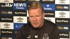 Watch: Ronald Koeman on Wayne Rooney's return to Everton