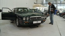Queen's Daimler sold at auction for £43,000