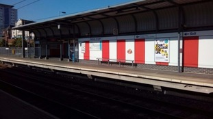 The Stadium of Light Metro station has been revamped to celebrate 20 years of the nearby football ground.