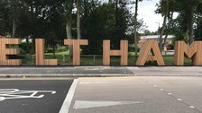 Hollywood-style sign in Eltham seriously divides opinion