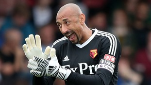 Watford goalkeeper Heurelho Gomes sign new two-year contract