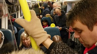 The Southern Railway train from East Grinstead to London Bridge is the most overcrowded service in the country