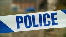 The collision happened near the A5087