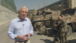 On tour with the Royal Irish in Afghanistan