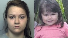 Mother jailed for murdering her two-year-old daughter