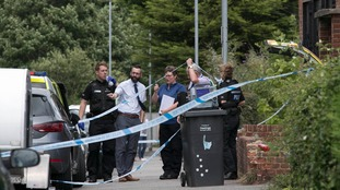 Road sealed off after fatal stabbing