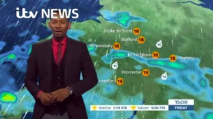 West Midlands Weather: Any showers easing tonight