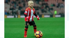 Bradley Lowery charity to get £10k donation by Celtic FC